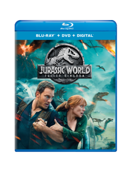 Jurassic World: Fallen Kingdom (Blu Ray + Dvd + Digital) by Universal Studios