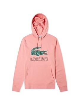 Lacoste Big Croc Logo Hoody by Lacoste
