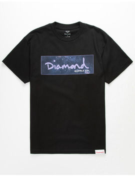 Diamond Supply Co. Cosmos Box Logo Mens T Shirt by Tilly's