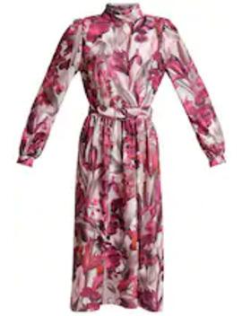 Sukienka Koktajlowa   Krój Dopasowany W Talii by Little Mistress