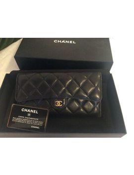 100%Original Chanel Lange Brieftasche/Ge<Wbr>Ldbörse Aus Lammleder,Klas<Wbr>Siker by Ebay Seller