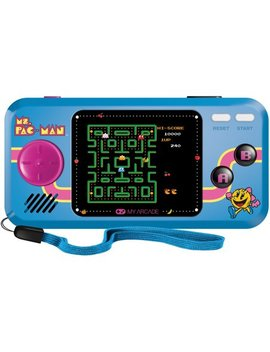 My Arcade Ms. Pacman Pocket Player  Collectible Handheld Console With 3 Games by My Arcade