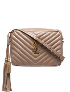 Bolsa Crossbody Capitonada Con Monograma by Saint Laurent
