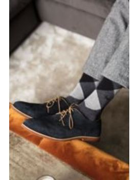 Mens 3 Pair Pringle New Waverley Argyle Patterned And Plain Socks by Sock Shop