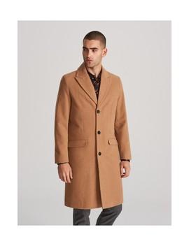 Płaszcz Z Dodatkiem Wełny by Reserved