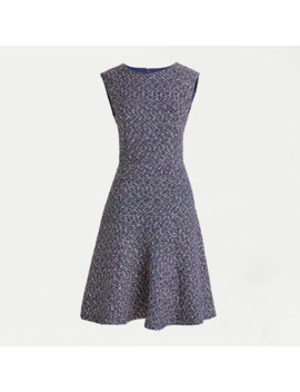 Petite A Line Dress In Confetti Tweed by J.Crew