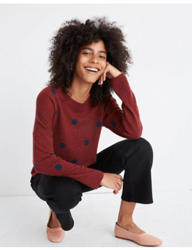 Cashmere Sweatshirt In Dot by Madewell
