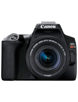 Canon Eos Rebel Sl3 Dslr Camera With 18 55mm Lens Kit   Black by Best Buy