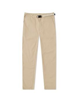 Nanamica Webbing Belt Pant by Nanamica