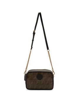 Brown & Black 'forever Fendi' Camera Case Bag by Fendi