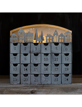 Concordville Zinc Advent Calendar by Terrain