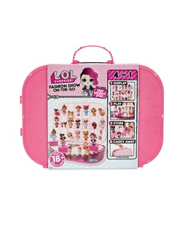 L.O.L. Surprise! Fashion Show On The Go Storage/Playset With Doll Included – Hot Pink by L.O.L. Surprise!