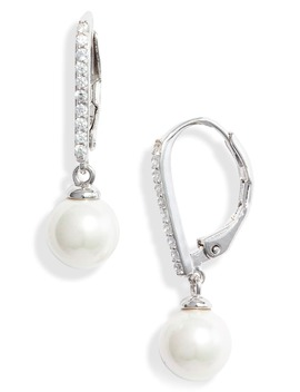 Imitation Pearl Drop Earrings by Nordstrom