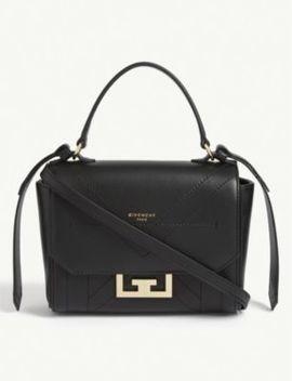 Mini Eden Leather Shoulder Bag by Givenchy
