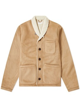 Universal Works Prairie Faux Leather Jacket by End.