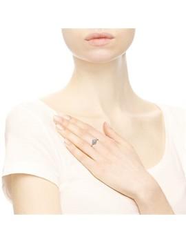 Ασημένιο δαχτυλίδι με κυβική ζιρκόνια by Pandora