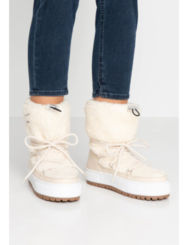 Signature Teddy   Snowboots by Tommy Jeans