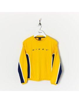Nike Sweatshirt Yellow/Navy Women's Small/Medium/Large New by Nike