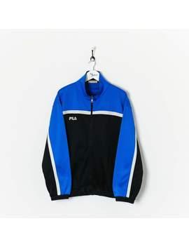 Fila Track Jacket Black/Blue Xl by Fila