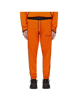 Orange Under Armour Edition Jogging Lounge Pants by Palm Angels