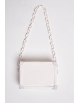 White Box Bag by Jaded London