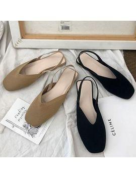 Yuki Yoru   Square Toe Sandals by Yuki Yoru