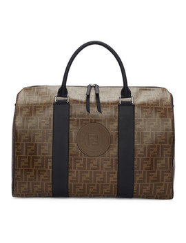 Brown 'forever Fendi' Travel Duffle Bag by Fendi