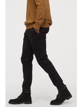 Cargohose Skinny Fit Stretch by H&M
