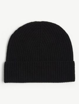 Ribbed Cashmere Beanie by Johnstons