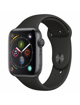 Apple Watch Series 4 Gps With Black Sport Band   44mm   Space Gray by Costco