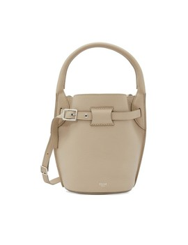 Nano Big Bag Bucket Bag In Grained Calfskin by Celine