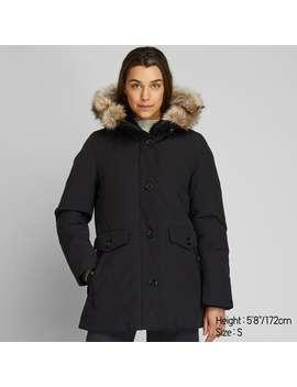 Hybrid Down Ultra Warm Short Coat by Uniqlo
