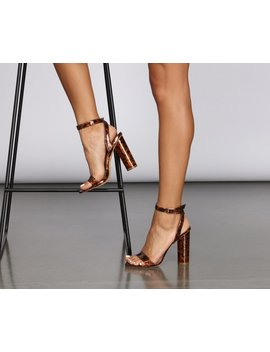 On Trend Resin Block Heels by Windsor