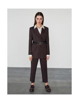 Классический полушерстяной пиджак by Reserved