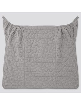 Babies Light Warm Fleece Padded Two Way Blanket (3) by Uniqlo
