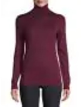 Ribbed Merino Wool Sweater by Lord & Taylor