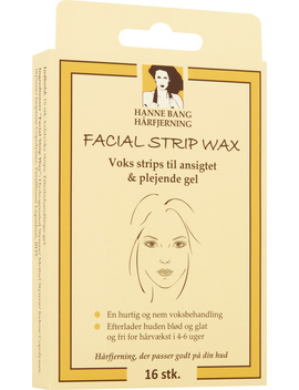 Facial Strip Wax by Hanne Bang