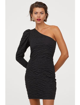 Crinkled Bodycon Dress by H&M