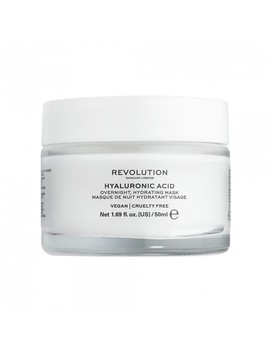 Hyaluronic Acid Overnight Hydrating Face Mask 50 M L by Revolution