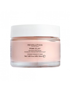 Pink Clay Detoxifying Face Mask 50 M L by Revolution