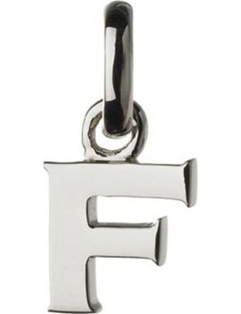 Alphabet F Sterling Silver Charm by Links Of London