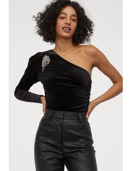 Velour Body With Sparkles by H&M