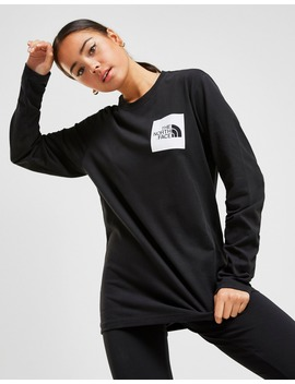 The North Face Box Long Sleeve Boyfriend T Shirt by Jd Sports