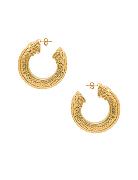 Caleb Earring In Gold by Amber Sceats