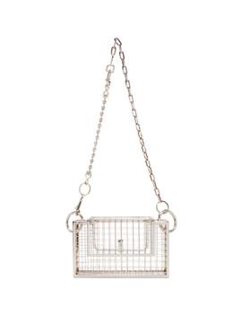 Silver Desi Bag by Martine Ali
