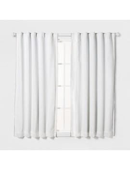 Loop Trim Blackout Window Curtain Panel   Pillowfort™ by Pillowfort
