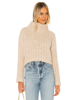 Canteen Sweater In Neutral by Tularosa