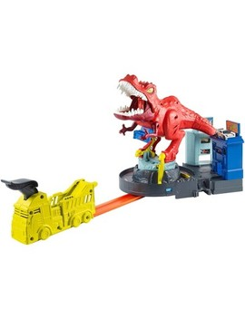 Hot Wheels T Rex Rampage Playset by Hot Wheels