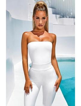 Gisele Bodysuit   White by Babyboo Fashion