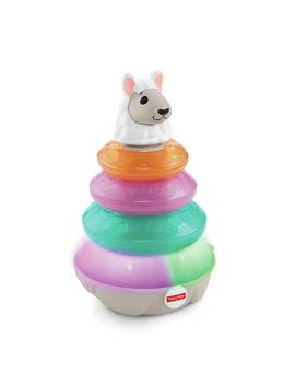 Fisher Price Linkimals Lights & Colours Llama Stacking Toy889/2643 by Argos